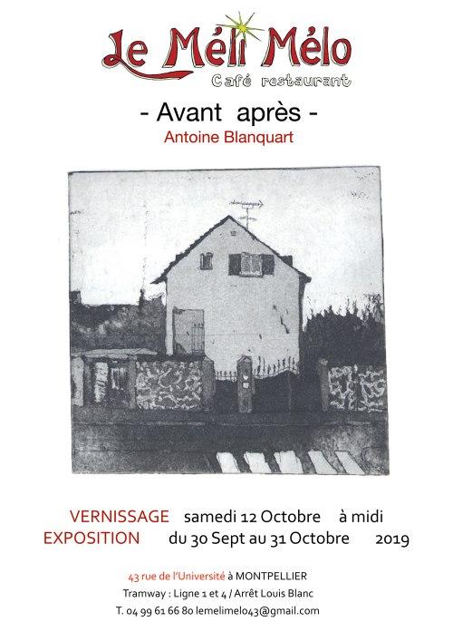 expo de votre serviteur à Montpellier
